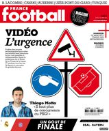 Une - France Football 22 avril 2014