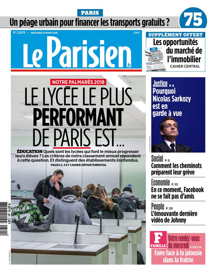le parisien du 21 mars 2018 t l charger sur ipad. Black Bedroom Furniture Sets. Home Design Ideas