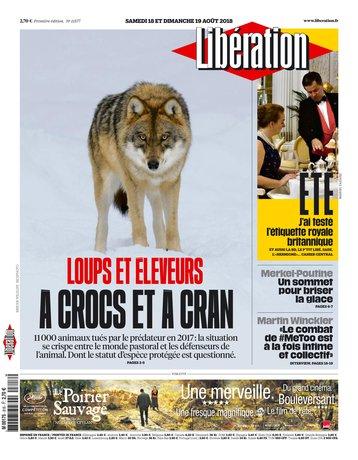 Libération - 18/08/2018  