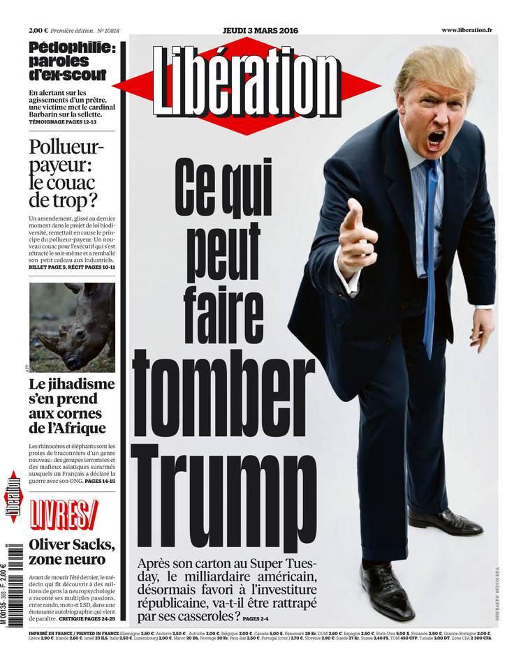 Libération du Jeudi 3 Mars 2016