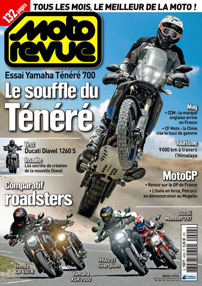 Moto revue du 12 juin 2019