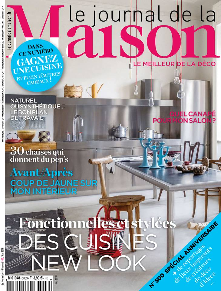 n 500 avril 2018 le journal de la maison sfr presse. Black Bedroom Furniture Sets. Home Design Ideas