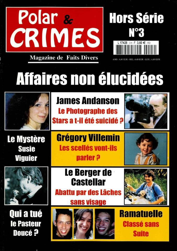 Abonnement Polar & Crimes Hors-Série avec le BOUQUET ePresse.fr