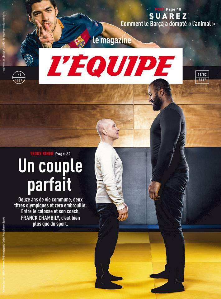 Magazine L'Équipe du 10 février 2017 à télécharger sur iPad