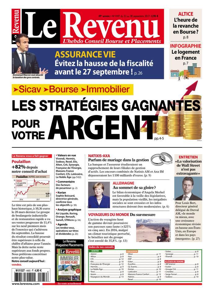 Abonnement Le Revenu Pas Cher avec le BOUQUET À LA CARTE ePresse.fr