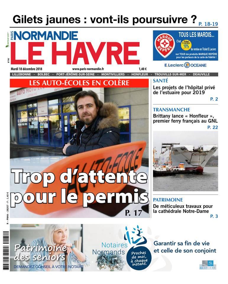 [Exclu Ultima Download] Paris Normandie Le Havre du mardi 18 Décembre 2018