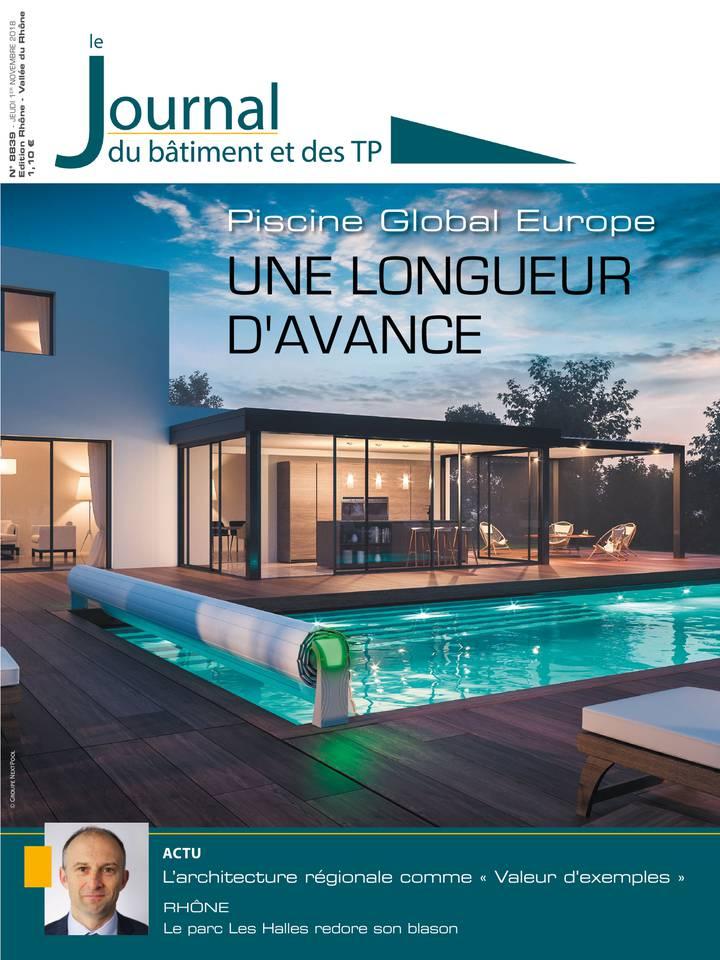 Le Journal du Bâtiment et des TP du 01 novembre 2018