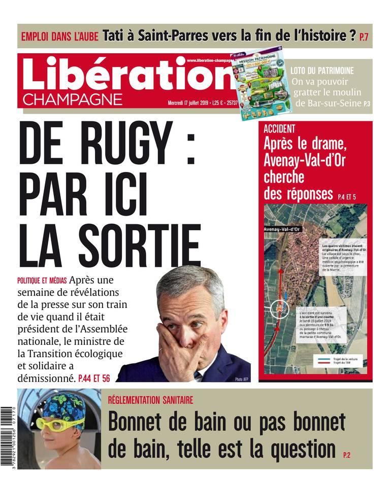 Liberation Champagne du 17 juillet 2019
