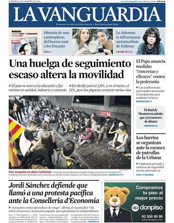 19 de marzo de 2019 - La Vanguardia - LaVanguardia 1158aba0d8576