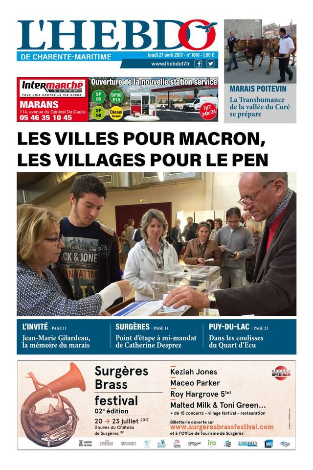 L'Hebdo de Charente-Maritime du 27 avril 2017