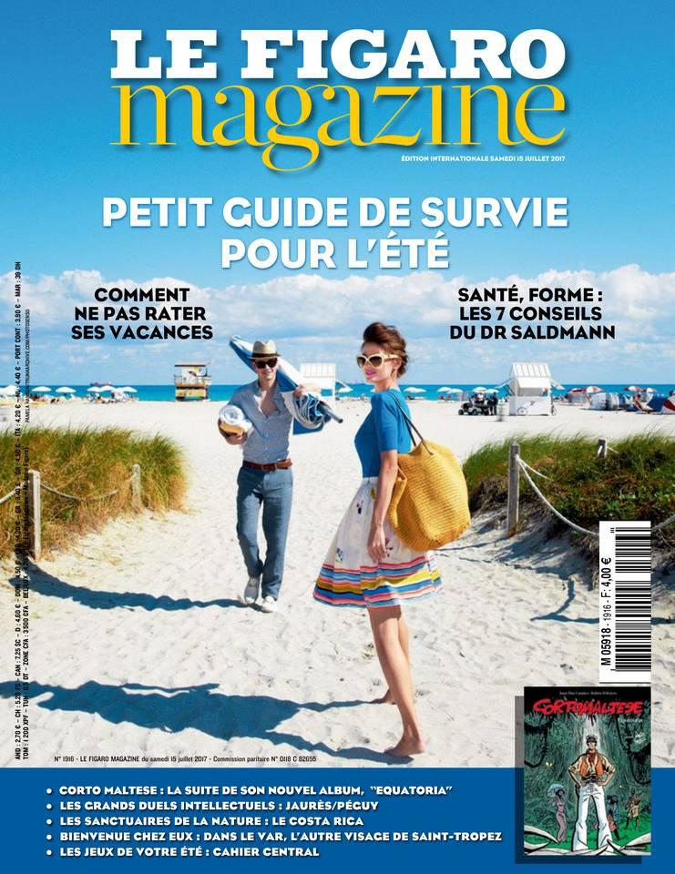 Le Figaro Magazine du 14 juillet 2017 à télécharger sur iPad