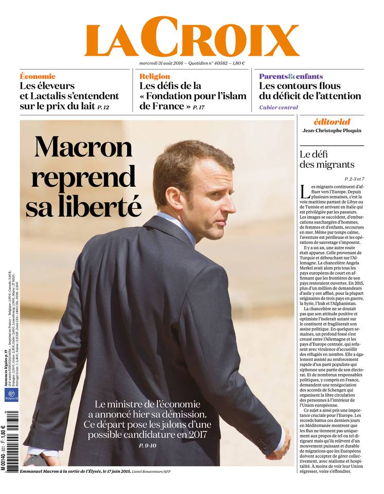 Subscription to La Croix Cheap with BOUQUET  INFO ePresse.fr