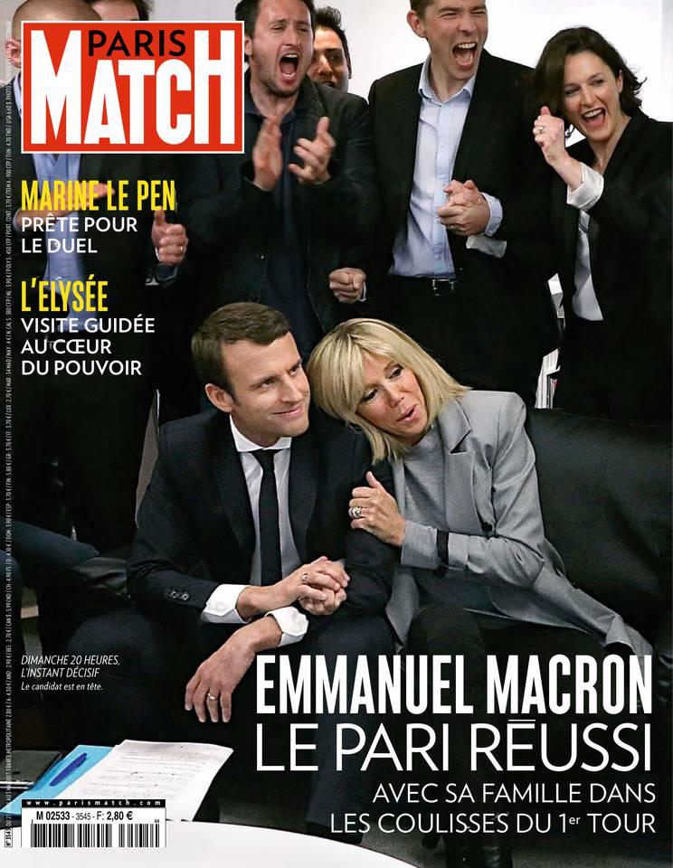 Abonnement à Paris Match Pas Cher avec le BOUQUET INFO ePresse.fr