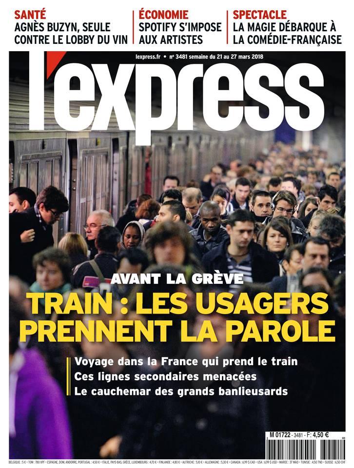 L'Express N°3481 du 21 mars 2018 à télécharger sur iPad