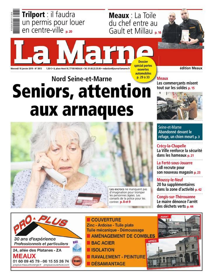 La Marne - Meaux du 16 janvier 2019