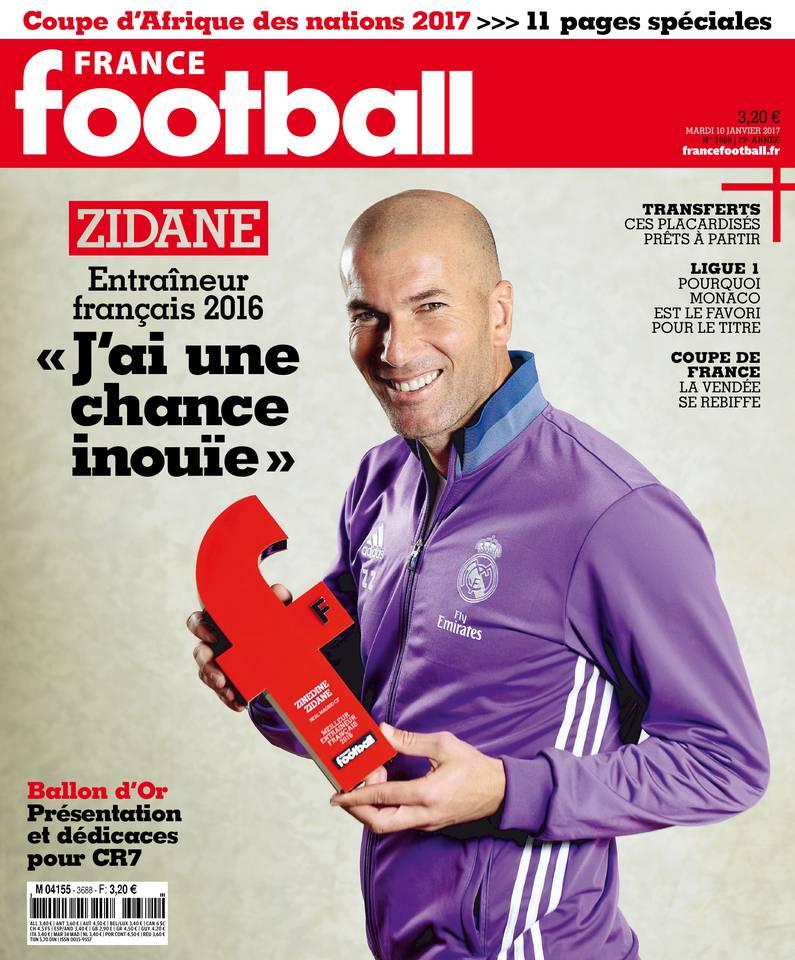 France Football du 10 janvier 2017 à télécharger sur iPad