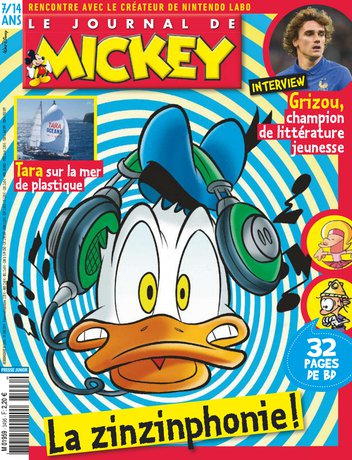 Le Journal de Mickey - 3496 |