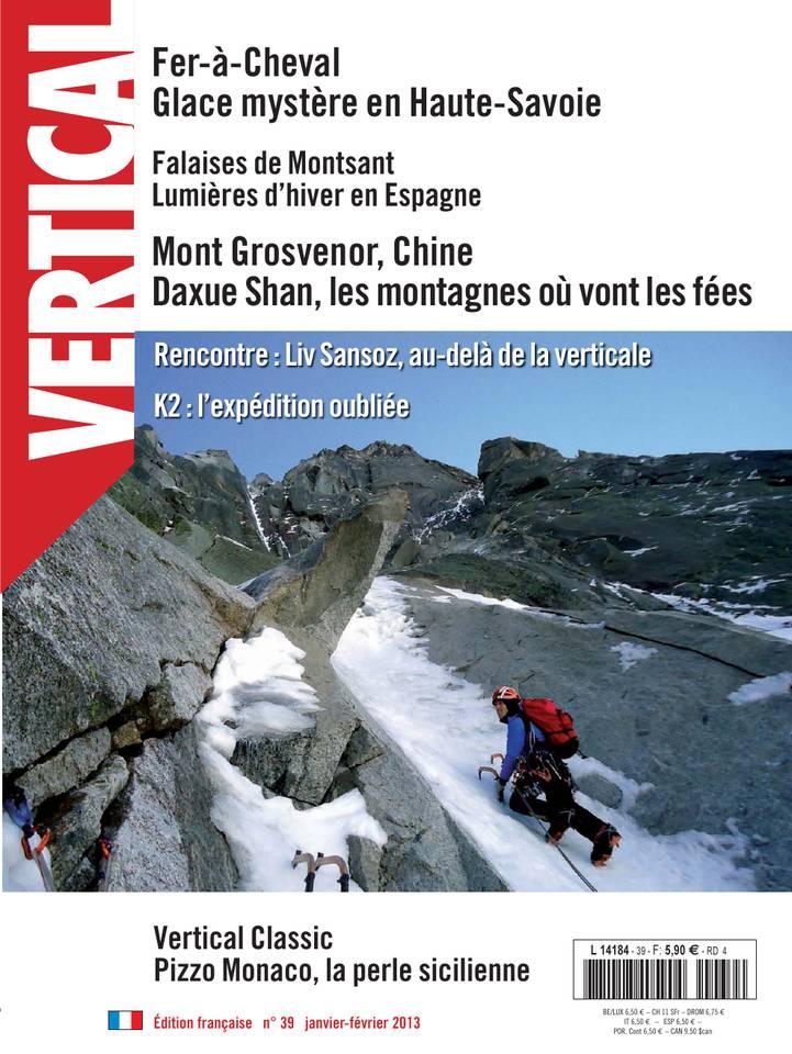Vertical Magazine N°39 du 01 janvier 2013 à télécharger sur iPad