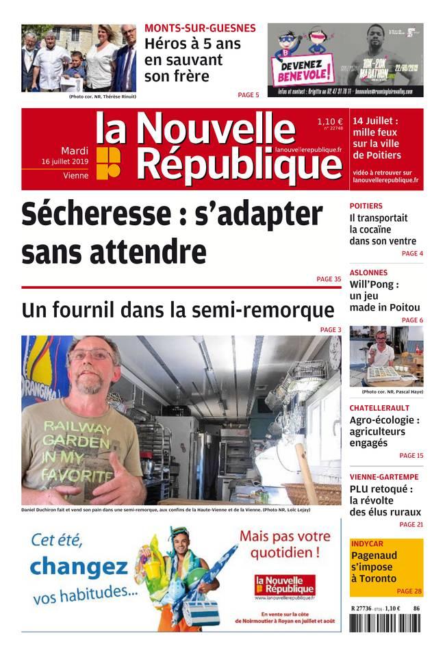 Abonnement Nouvelle République Pas Cher avec le BOUQUET ePresse.fr