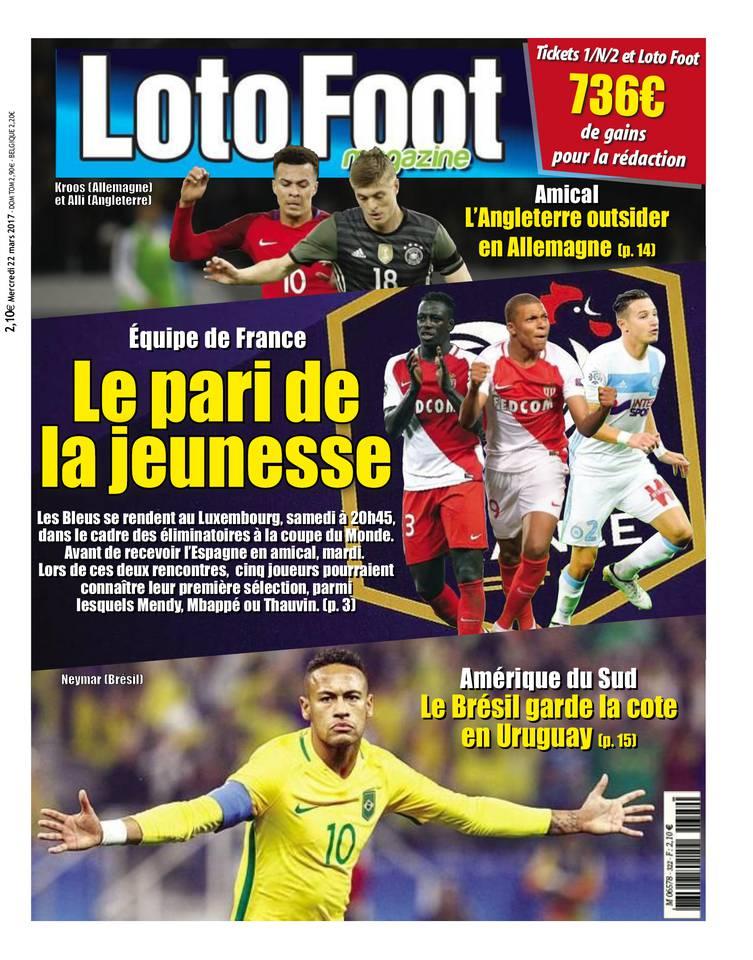 Abonnement Loto Foot Mag Pas Cher avec le BOUQUET ePresse.fr