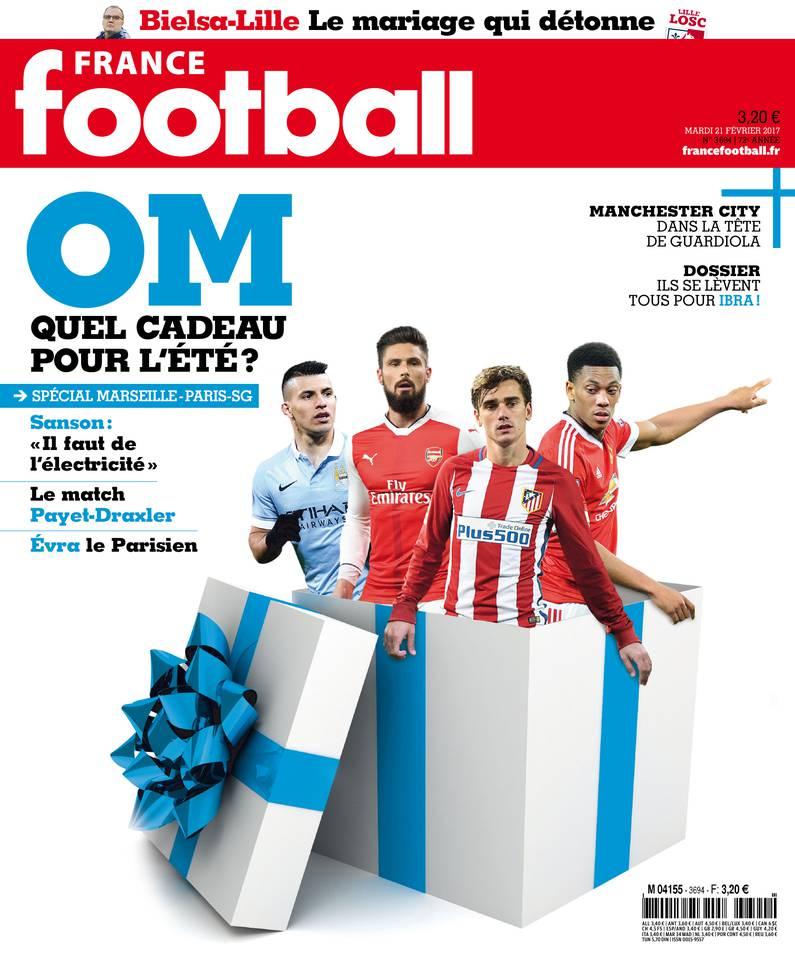 France Football du 21 février 2017 à télécharger sur iPad