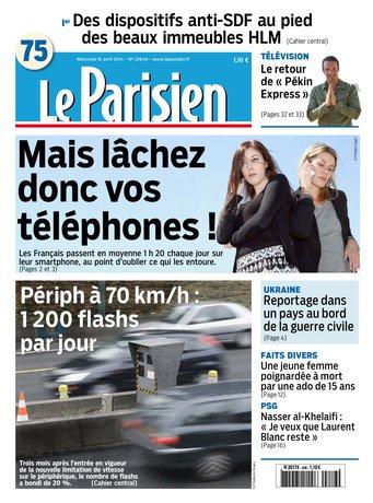 Le Parisien - Paris 75 - 2014-04-16 |