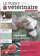 Couverture du dernier numero du Point Vétérinaire Canin