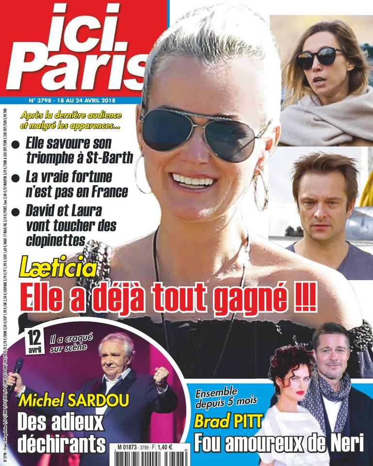 Ici Paris N°3798 du 18 avril 2018 à télécharger sur iPad
