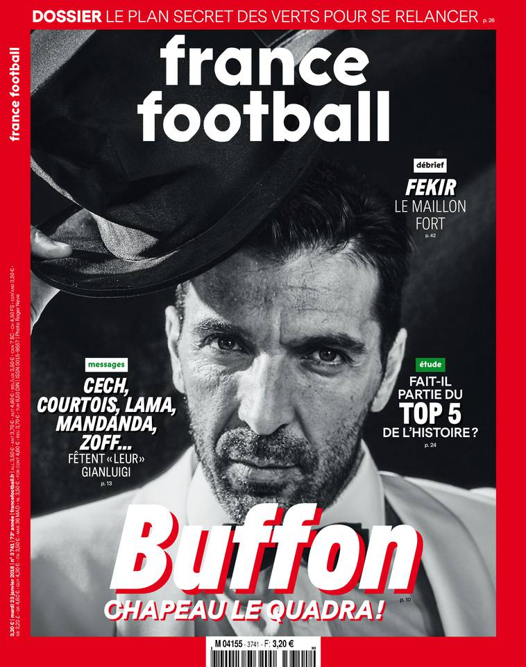 France Football N°3741 - 23 Janvier 2018