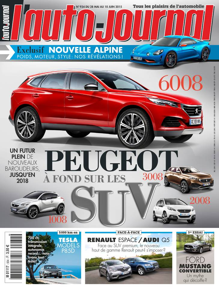 l auto journal l 39 auto journal n 965 du 01 septembre 2016 t l charger l 39 auto journal l. Black Bedroom Furniture Sets. Home Design Ideas