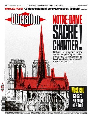 Libération - 20/04/2019 |