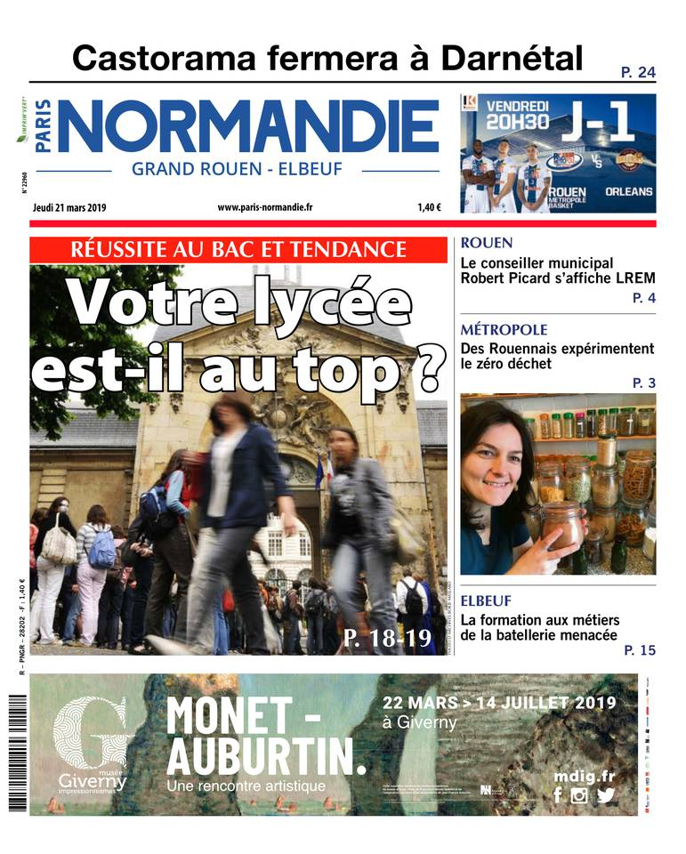 Paris Normandie - Paris-Normandie Grand Rouen du 21 mars 2019