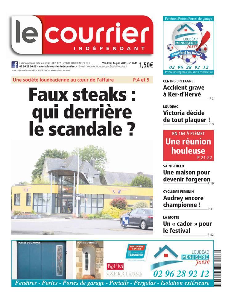 Courrier Indépendant du 14 juin 2019
