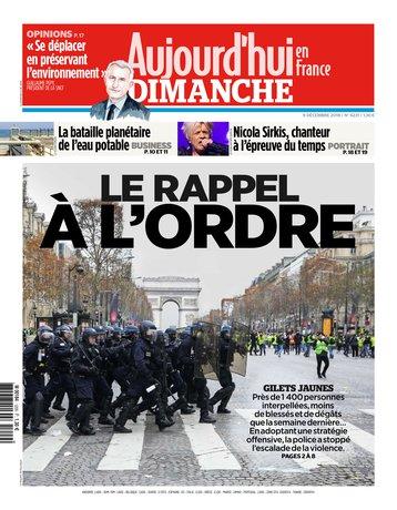 Aujourd'hui en France - 09/12/2018 |