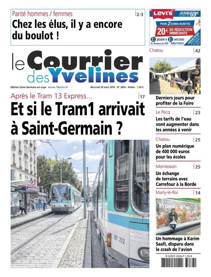 Le Courrier des Yvelines du 20 mars 2019 à télécharger sur iPad