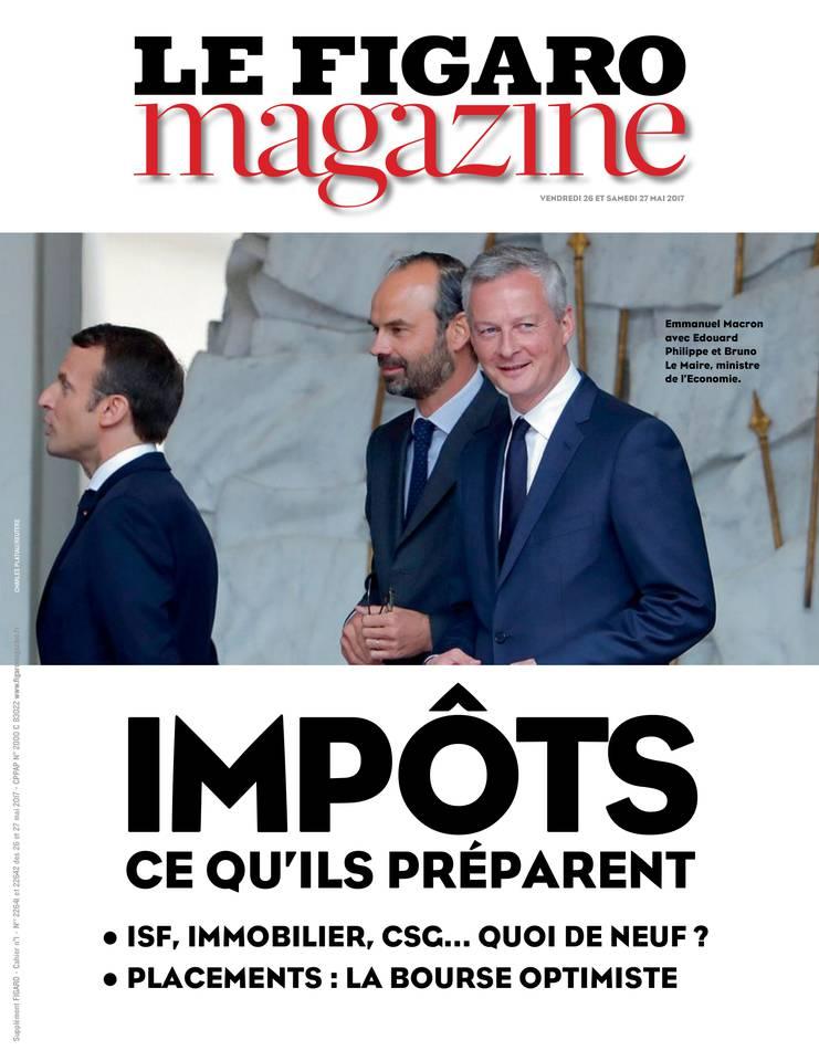Le Figaro Magazine du 26 mai 2017 à télécharger sur iPad
