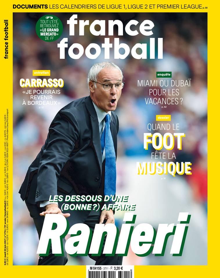 France Football du 20 juin 2017 à télécharger sur iPad