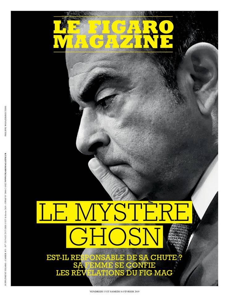Le Figaro Magazine du 15 février 2019 à télécharger sur iPad
