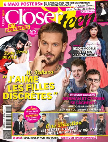 Une de «Closer Teen»