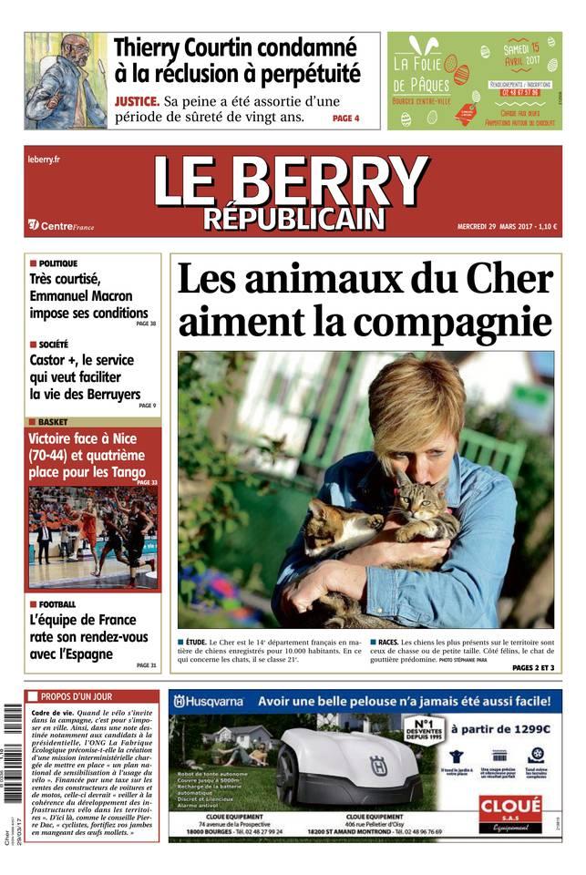 Abonnement Berry Républicain Pas Cher avec le BOUQUET ePresse.fr