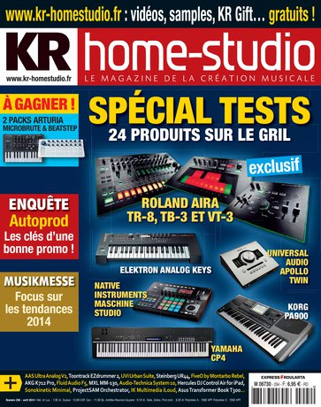 Une de «Keyboards Recording»