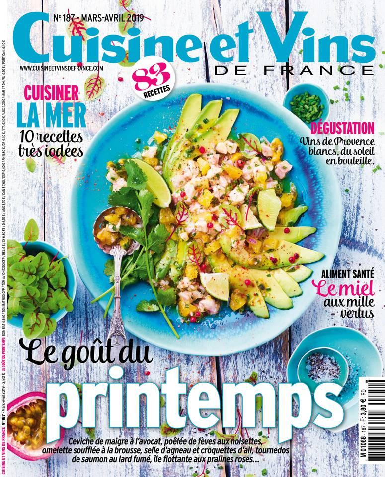 Abonnement Cuisine et Vins de France Pas Cher BOUQUET ePresse.fr