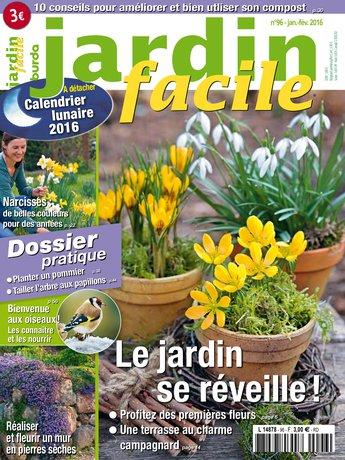 Jardin facile n 96 du 04 janvier 2016 t l charger sur ipad for Jardin facile