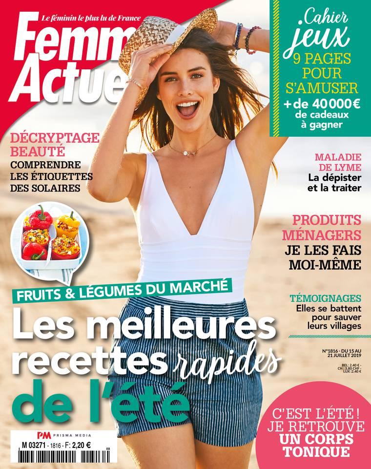 Abonnement à Femme Actuelle Pas Cher avec le BOUQUET ePresse.fr