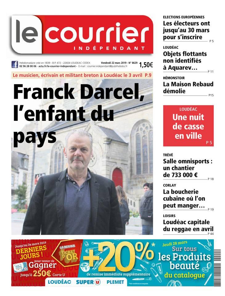 Courrier Indépendant du 22 mars 2019