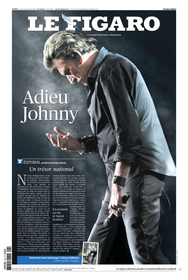 Le Figaro du 07 décembre 2017 à télécharger sur iPad