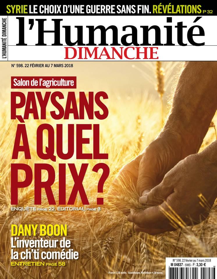 Abonnement L'Huma Dimanche Pas Cher avec le BOUQUET INFO ePresse.fr