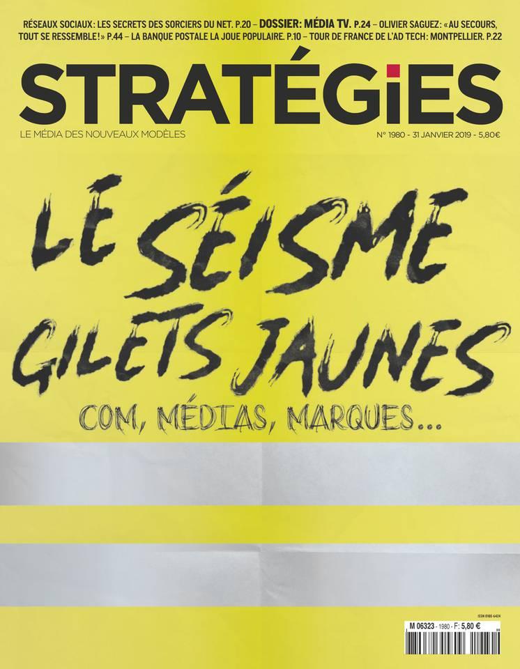 Stratégies N°1980 du 31 janvier 2019 à télécharger sur iPad