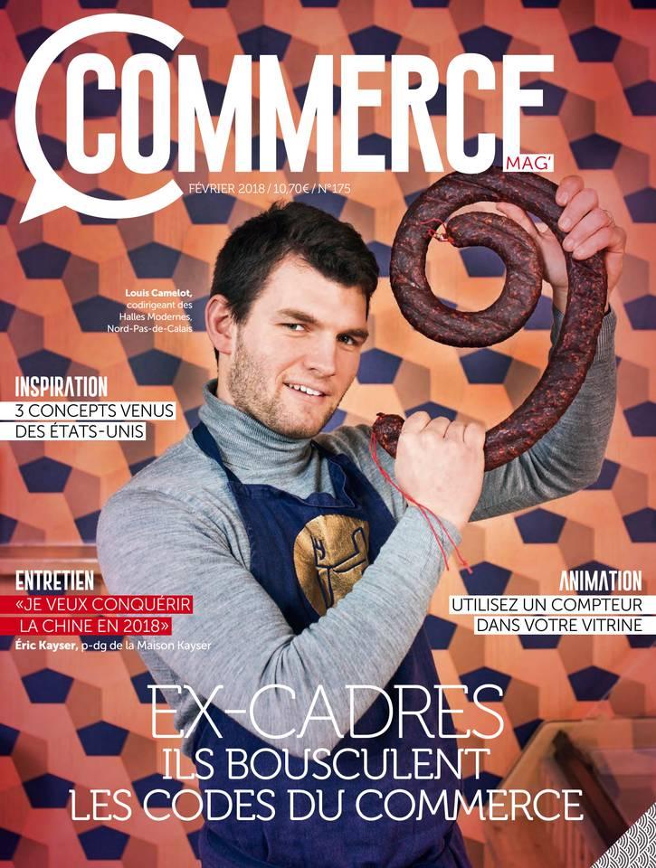Commerce Magazine N°175 du 24 février 2018 à télécharger sur iPad