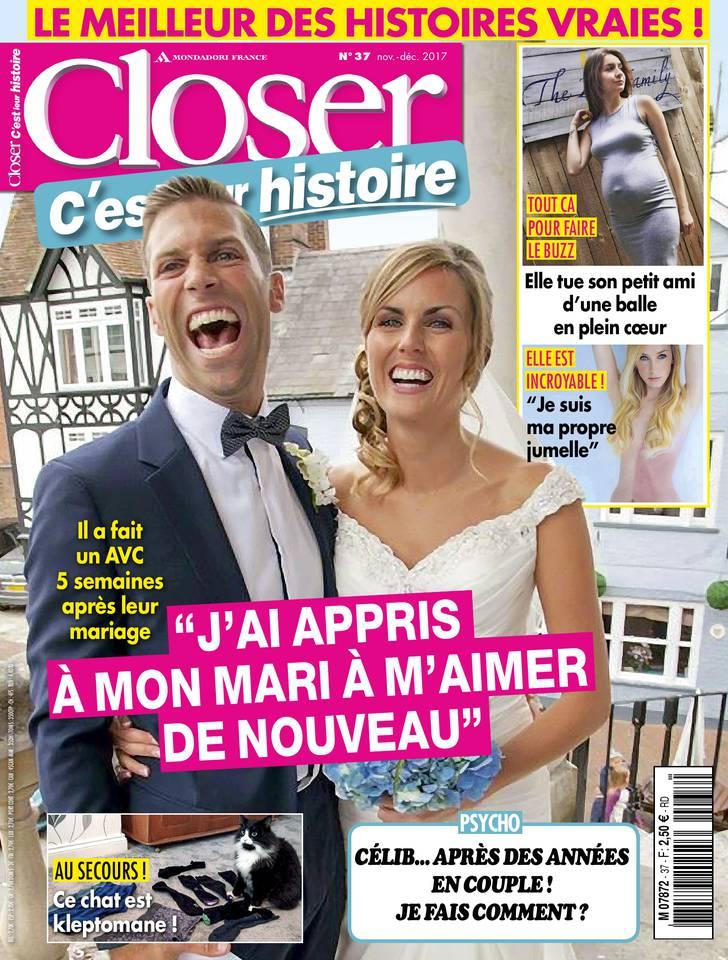 Abonnement Closer c'est leur histoire Pas Cher avec le BOUQUET ePresse.fr